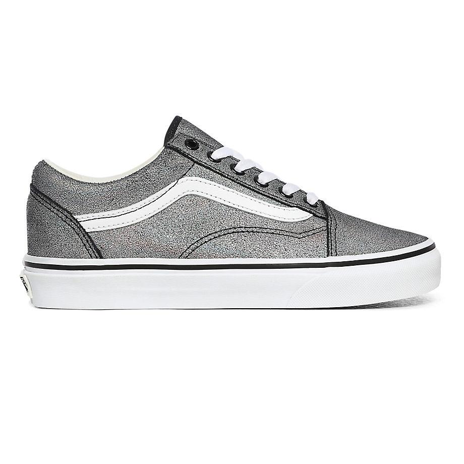 Chaussures Prism Old Skool En Daim ((prism Suede) Black/true White) , Taille 34.5 - Vans - Modalova