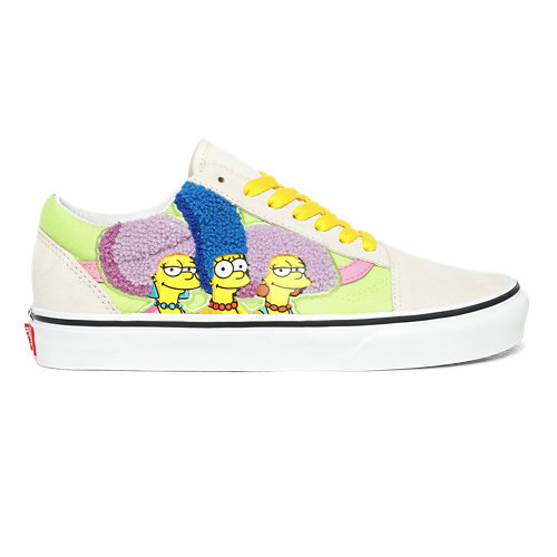 Chaussures+The+Bouviers+Old+Skool+The+Simpsons+x+Vans