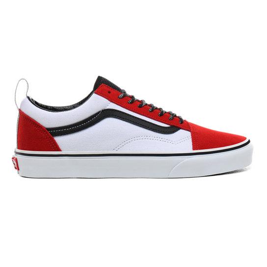 chaussure vans rouge femme