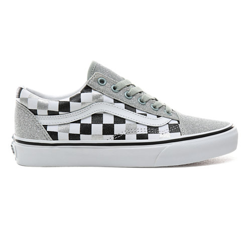 Glitter+Checkerboard+Old+Skool+Schuhe