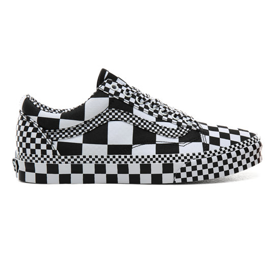Vans Old Skool Skate Shoe Black | Black, white vans, White