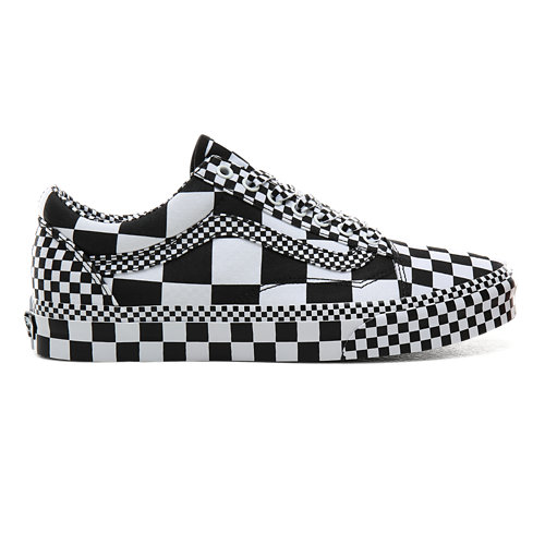 All+Over+Checkerboard+Old+Skool+Schuhe
