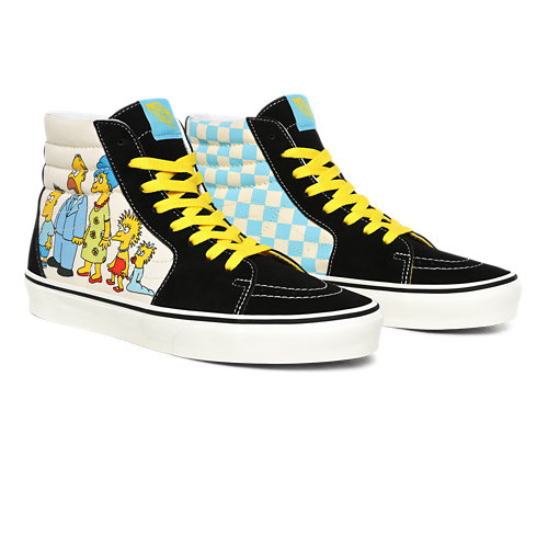 Chaussures+1987-2020+Sk8-Hi+The+Simpsons+x+Vans