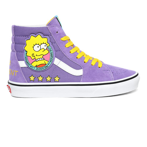 Zapatillas+Sk8-Hi+%C2%ABLisa+Simpson+For+President%C2%BB+The+Simpsons+x+Vans