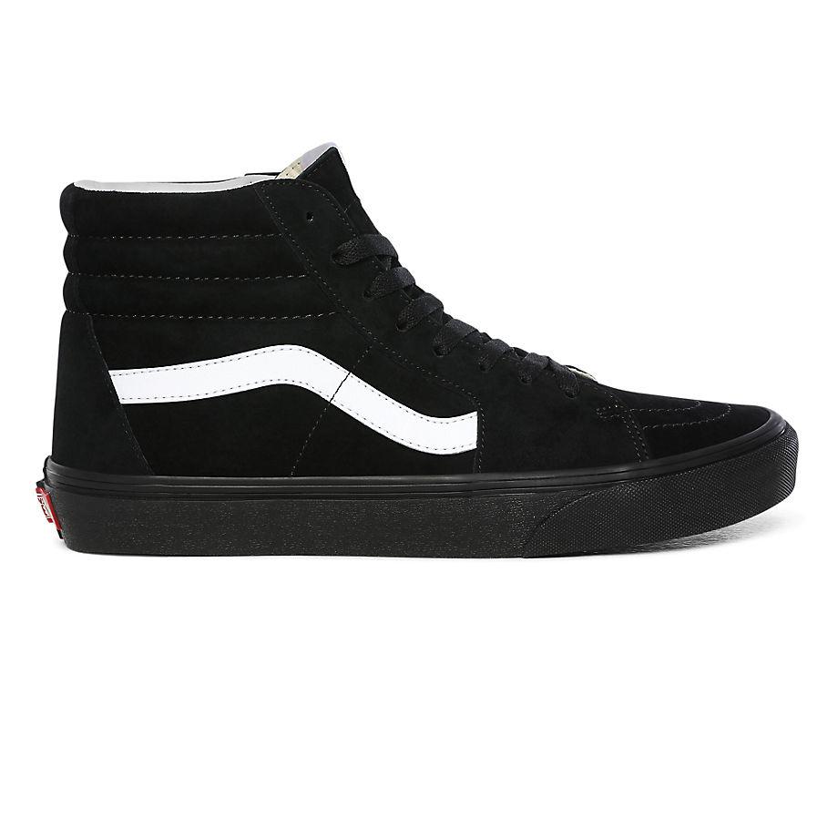 Vans  SK8-HI  women's Shoes (High-top Trainers) in Black - VN0A4BV618L1