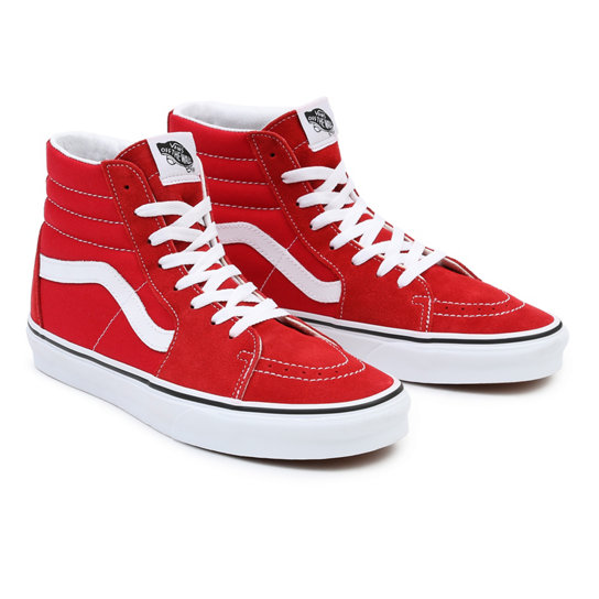 chaussure vans femmes rouge