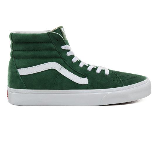 Vans Black & Green Mixed Camo OG Sk8 Hi Sneakers textile