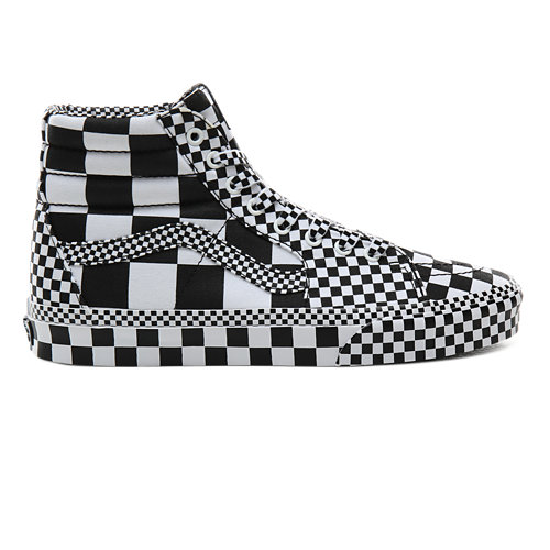 All+Over+Checkerboard+Sk8-Hi+Schuhe