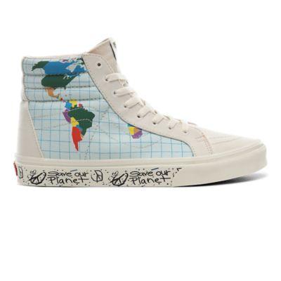 Save Our Planet x Vans SK8 Hi Reissue Shoes