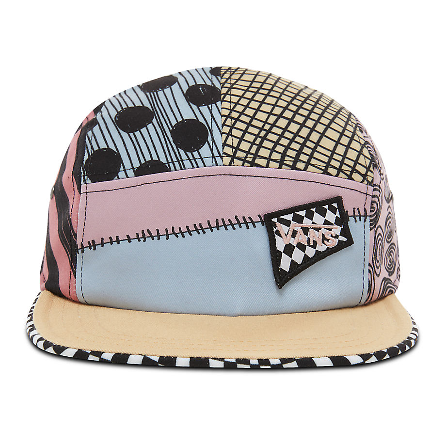 VANS Casquette Disney X Vans Sally Patchwork Camper ((disney)sally Patchwork/nightmare) Femme Multicolour, Taille TU