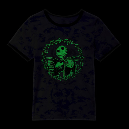 Disney x Vans Jack and Sally Ringer T-shirt | Vans