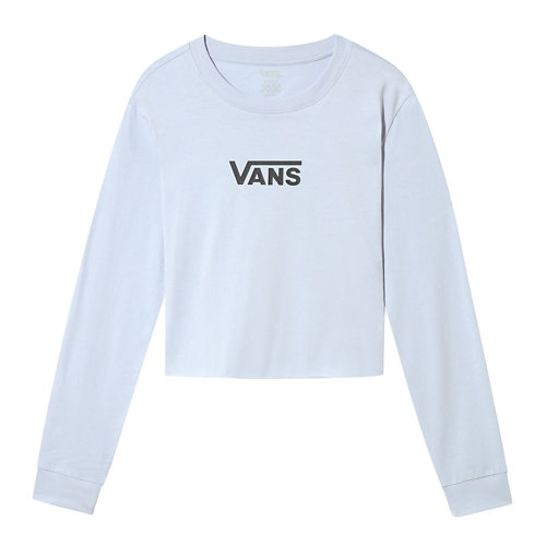Airbone+V+Long+Sleeve+Cropped+T-shirt