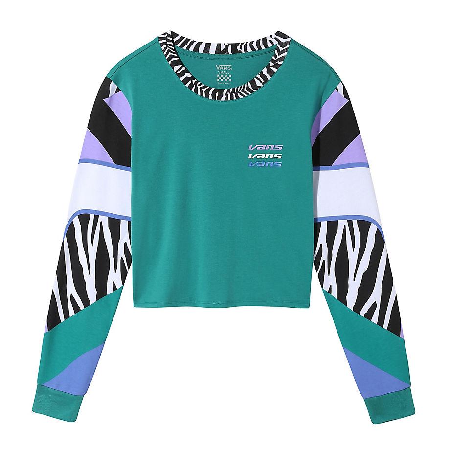 T-shirt Court À Manches Longues Zebra (tidepool) , Taille L - Vans - Modalova