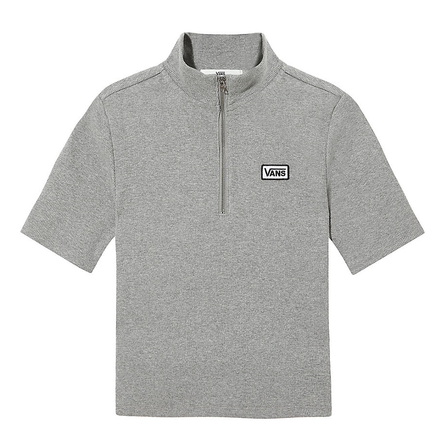 VANS Polo Studio (grey Heather) Femme Gris, Taille L