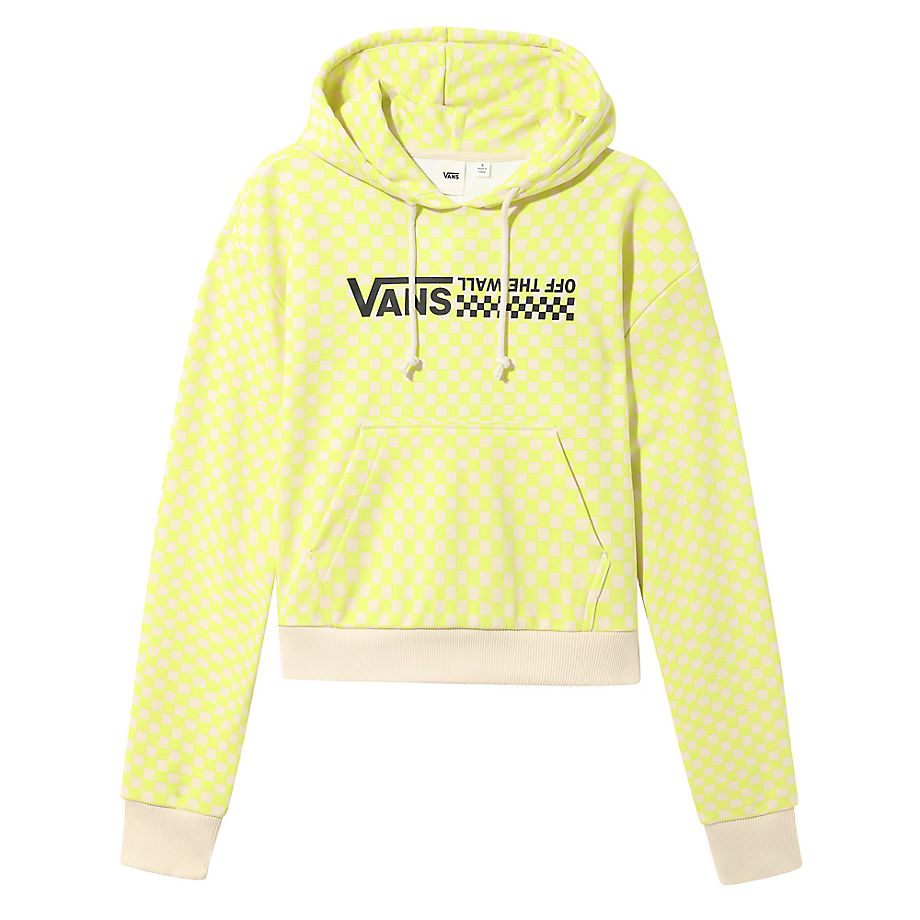 Sweat À Capuche Quantum (lemon Tonic Checkerboard) , Taille L - Vans - Modalova