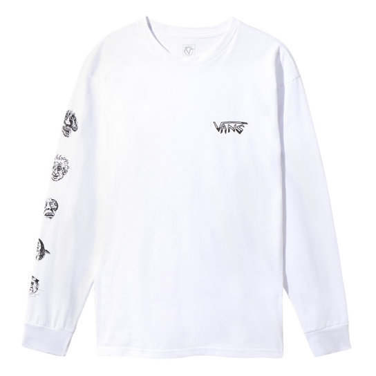 Rowan Zorilla Faces Long Sleeve T-shirt | Vans