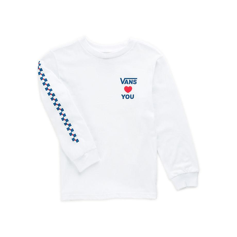 VANS T-shirt Little Kids Vans X Autism Awareness À Manches Longues (2-8ans) (blanc) Little Kids Bla