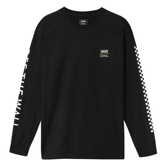 t-shirt manche longue vans