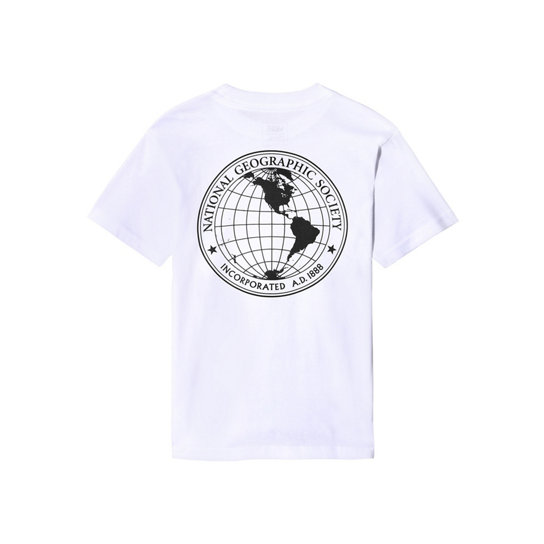 Little Kids Vans x National Geographic Globe T-shirt (2-8 years) | Vans