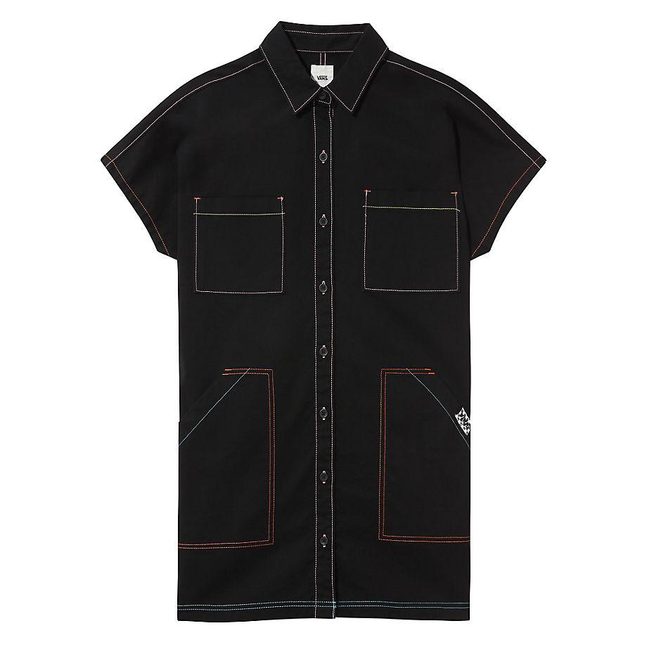 Robe Thread It (black) , Taille L - Vans - Modalova