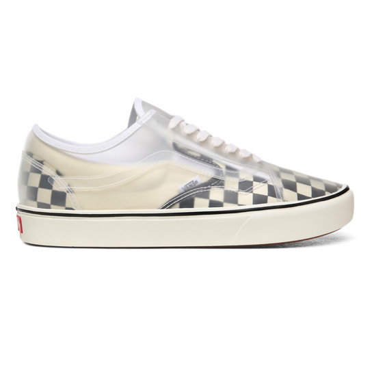 Checkerboard ComfyCush Slip-Skool Schoenen | Vans