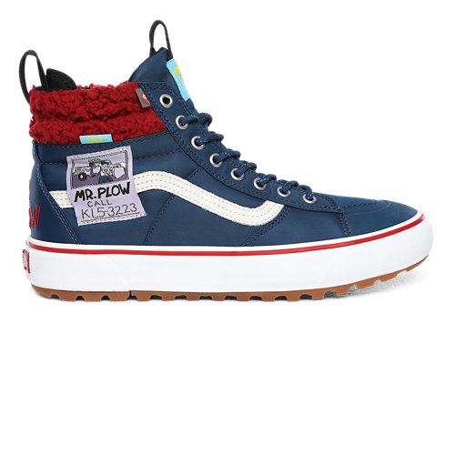 Chaussures+Mr.+Plow+Sk8-Hi+MTE+2.0+DX+The+Simpsons+x+Vans