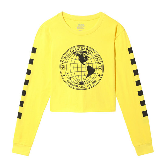 Vans x National Geographic Long Sleeve Cropped T-shirt | Vans