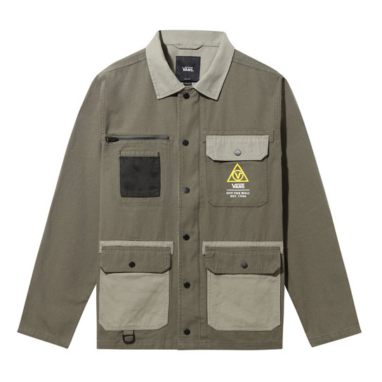 Cappotto chore in drill 66 Supply Military | Vans