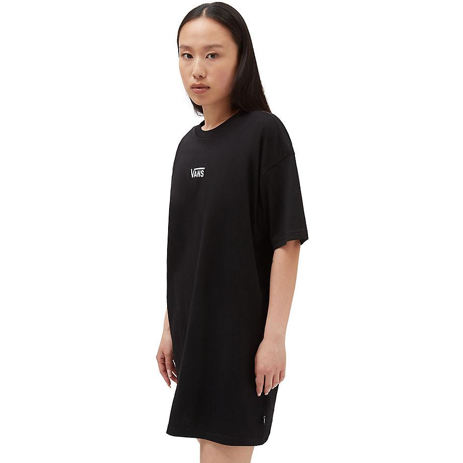 Robe T-shirt Center Vee (black) , Taille L - Vans - Modalova