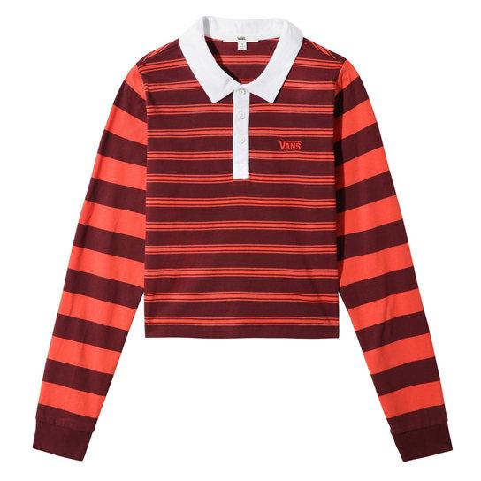 Polo manches longues Stripe Block