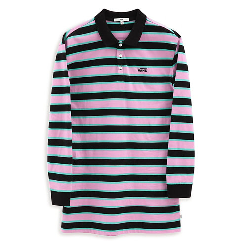 Robe+polo+Stripe