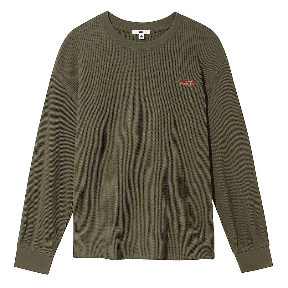 T-shirt À Manches Longues Lorraine Thermal (grape Leaf) , Taille L - Vans - Modalova