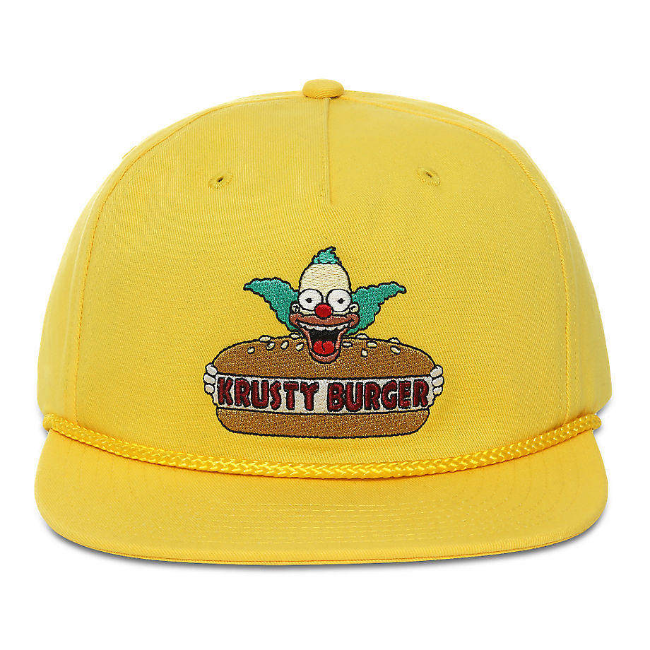 Casquette Krusty Shallow Unstructured The Simpsons X ((the Simpsons) Krusty) , Taille TU - Vans - Modalova