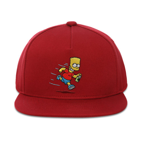 Casquette+Junior+El+Barto+Snapback+The+Simpsons+x+Vans+%288-14%2B+ans%29