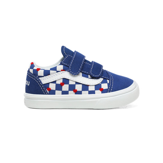 Toddler Vans x Autism Awareness ComfyCush Old Skool V Shoes (1-4 years) | Vans