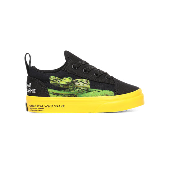 Toddler Vans x National Geographic Elastic Lace Old Skool Shoes (1-4 years) | Vans