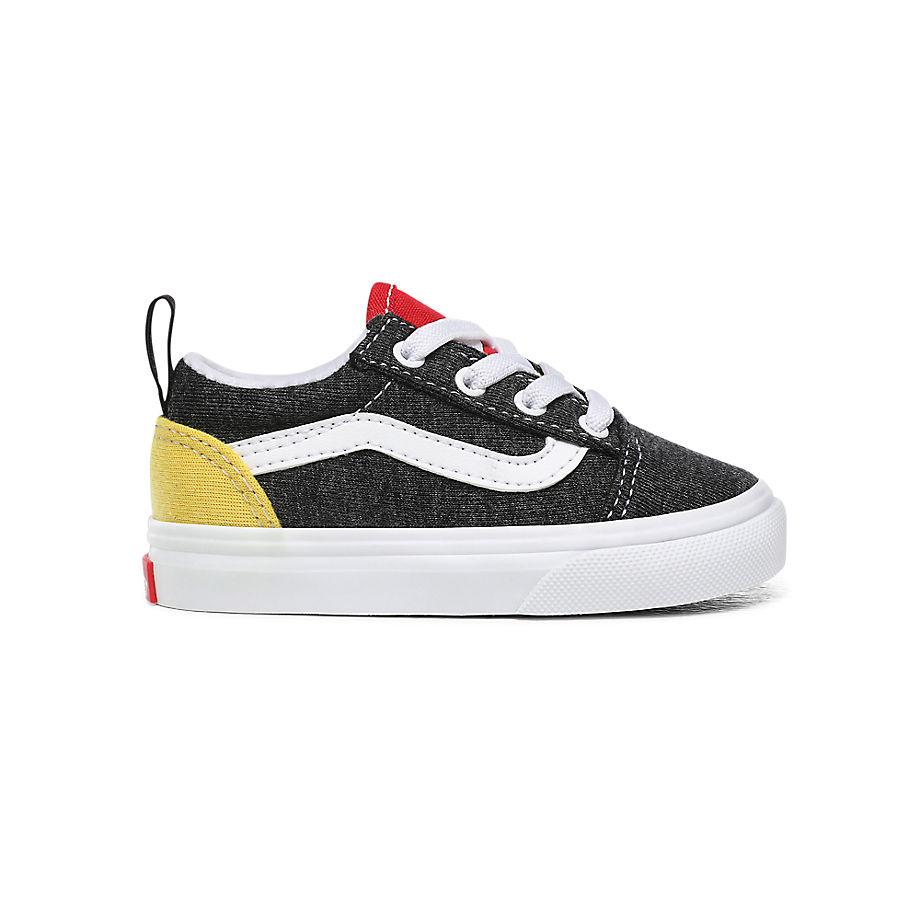 VANS Chaussures Enfant Vans Coastal Elastic Lace Old Skool (1-4ans) ((vans Coastal) Black/true Whit