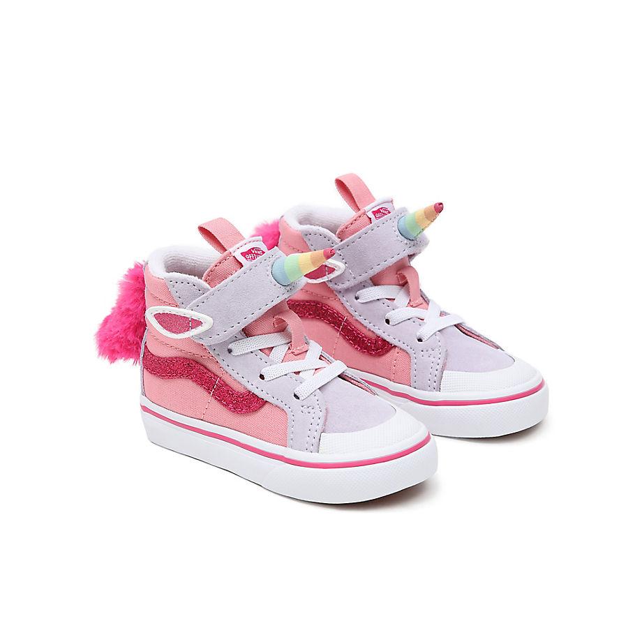 VANS Chaussures Enfant Unicorn Sk8-hi Reissue 138 V (1-4ans) ((unicorn) Pink Icing/lavender Blue) T
