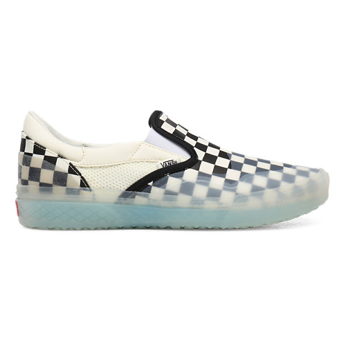 Checkerboard+Mod+Slip-On+Shoes