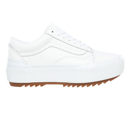 Zapatillas de cuero Old Skool Stacked | Vans