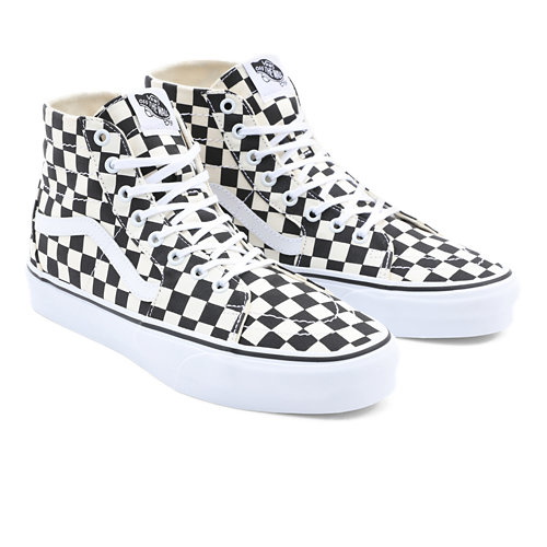 T%C3%A9nis+Checkerboard+Sk8-Hi+Tapered
