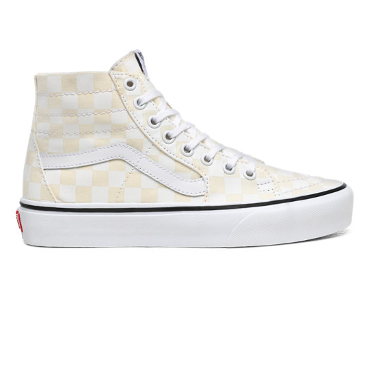 Checkerboard Sk8-Hi Tapered Shoes | Vans