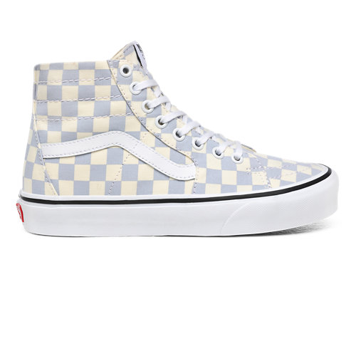 Checkerboard+Sk8-Hi+Tapered+Shoes