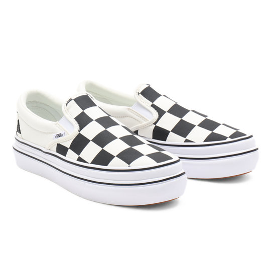 Big Classics Checker Super ComfyCush Slip-On Schoenen | Vans