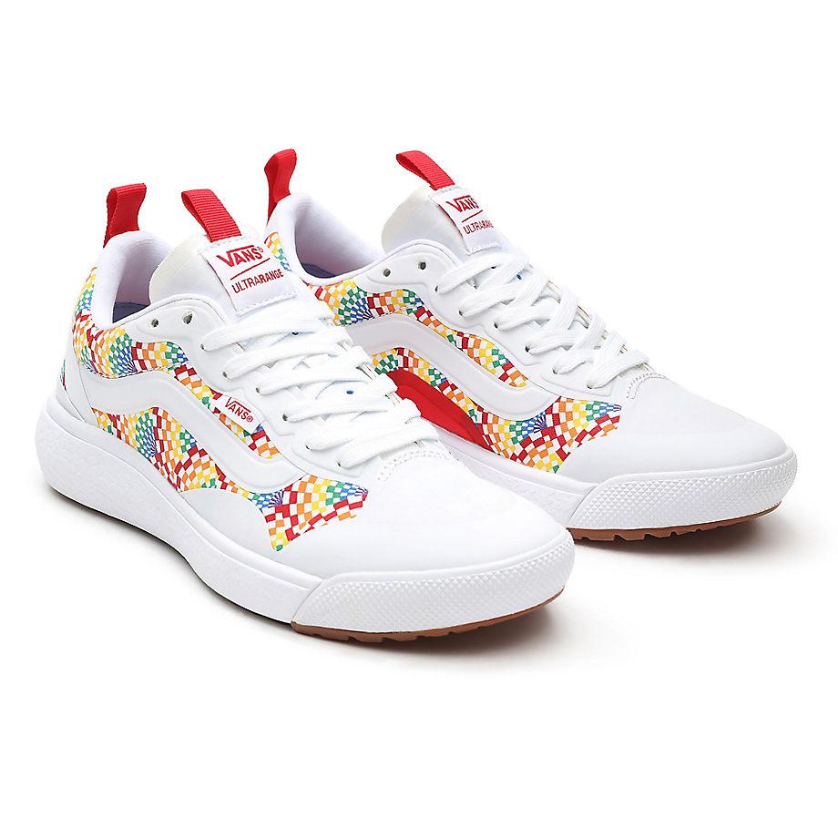 Vans  ULTRARANGE EXO  women's Shoes (Trainers) in White - VN0A4U1K3WJ1
