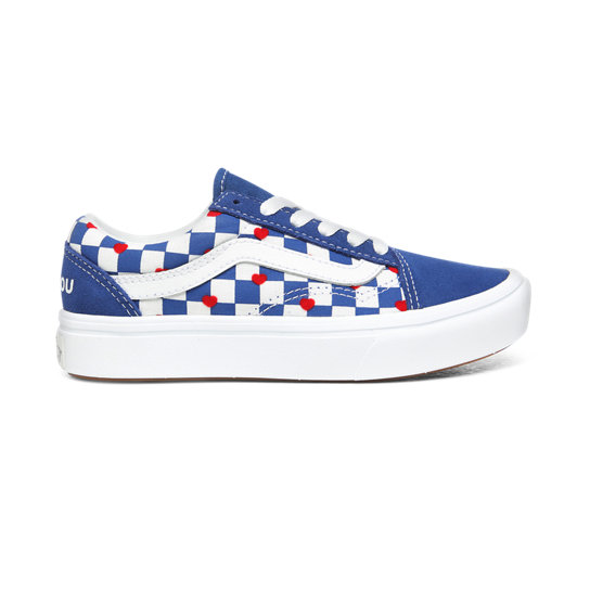 Kids Vans x Autism Awareness ComfyCush Old Skool Shoes (4 8 years)