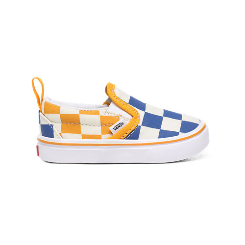 Toddler+Big+Checker+ComfyCush+Slip-On+V+Shoes+%281-4+years%29