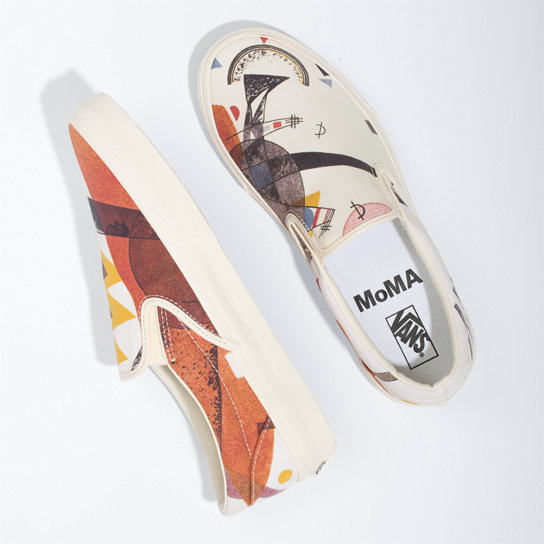 Vans MoMA Kandinsky Classic Slip-On Shoes | Vans