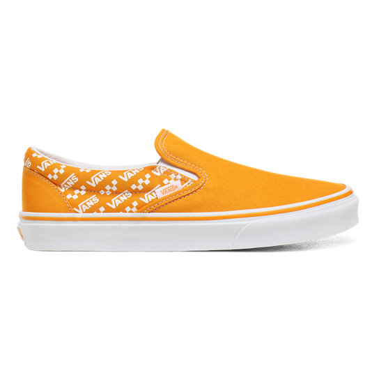 Logo Repeat Classic Slip-On Shoes | Vans