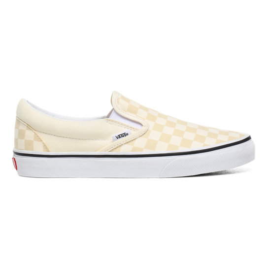 vans checkerboard beige